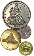 Link to Numismatic Link Page